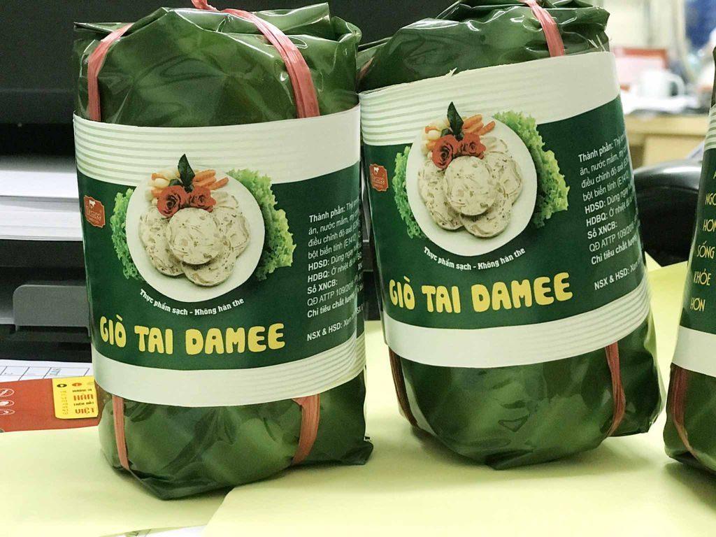 Giò tai Damee 500g đảm bảo vệ sinh thực phẩm