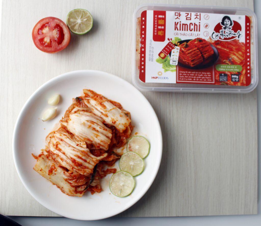 Kim chi cải thảo cô hường 500g cực tiện lợi cho mỗi bữa ăn