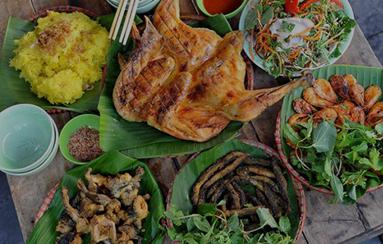 Các món ăn ngon và hấp dẫn của vùng quê Việt Nam