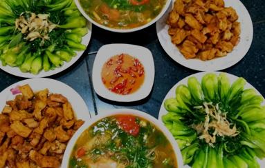 Thực đơn hàng ngày: Chia sẻ các bữa ăn ngon mỗi ngày cho gia đình