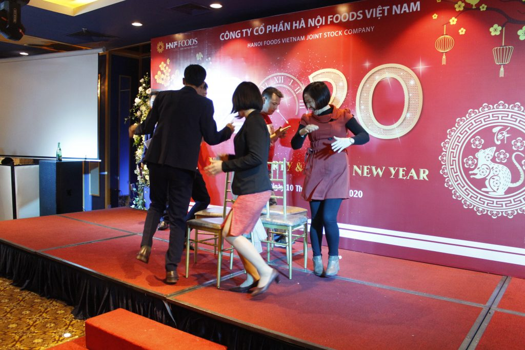 Tiệc tất niên công ty CP Hà Nội Foods năm 2019