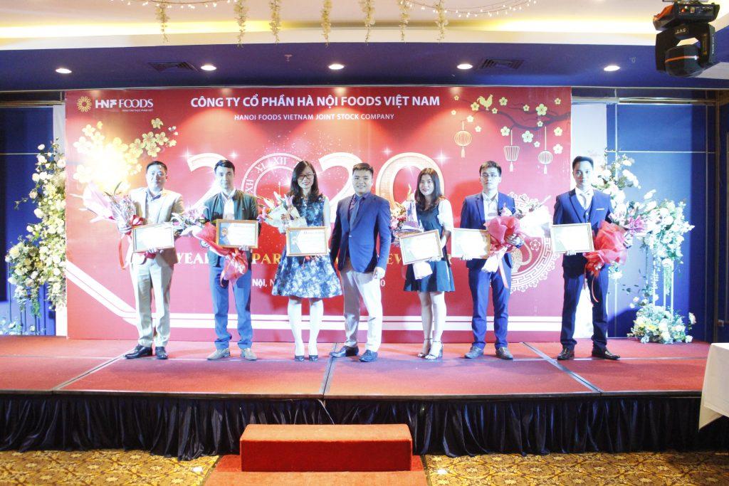Tiệc tất niên công ty CP Hà Nội Foods Việt Nam năm 2019