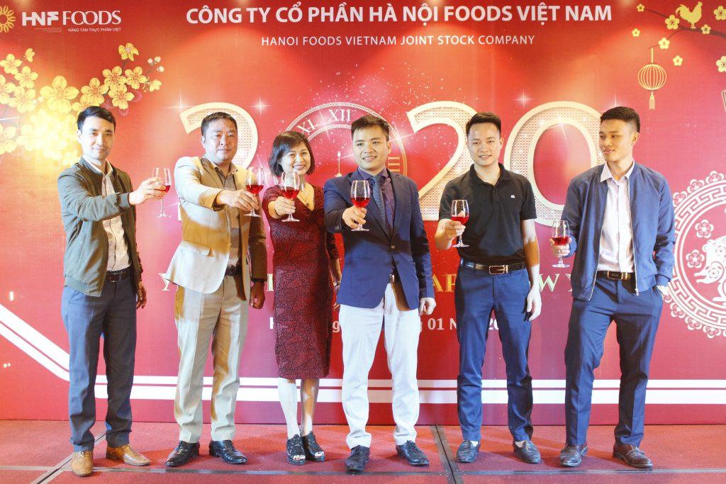 Tiệc tất niên công ty HNF Foods 2019